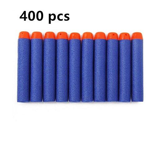 400 Pcs 72cm Blue Foam Darts for Blasters Toy Gun
