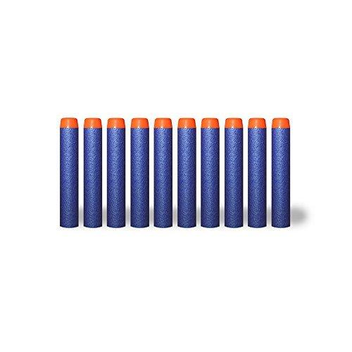 LNL Lot 100 Pcs Blue Foam Darts for Blasters Toy Gun Blue