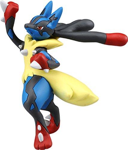 Takaratomy Official Pokemon X Y SP-42 Mega Lucario Sky Uppercut Action Figure