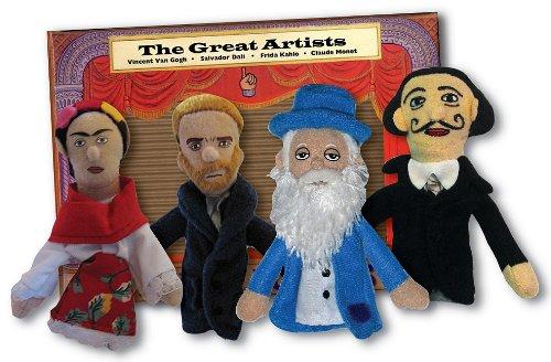 Great Artist Finger Puppet Set