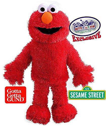 GUND Sesame Street Elmo Plush 15 Full Body Hand Puppet