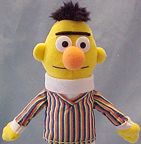 Gund Sesame Street Plush Bert Finger Puppet