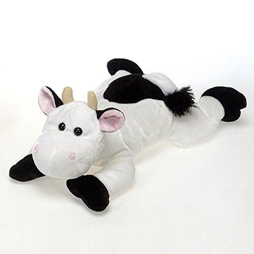 19 Laydown Plush Cow by Fiesta Toys
