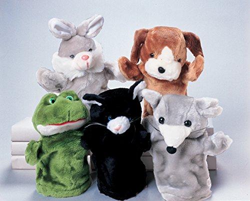 Creative Minds Pet Hand Puppet Set of 5