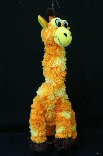 My Pet Puppet Toy Hand Puppet With Wooden Handle - Giraffe OrangeYellow