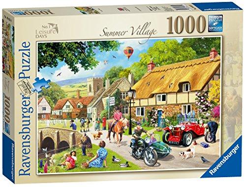 Ravensburger Leisure Days No1 - Summer Village 1000pc Jigsaw Puzzle