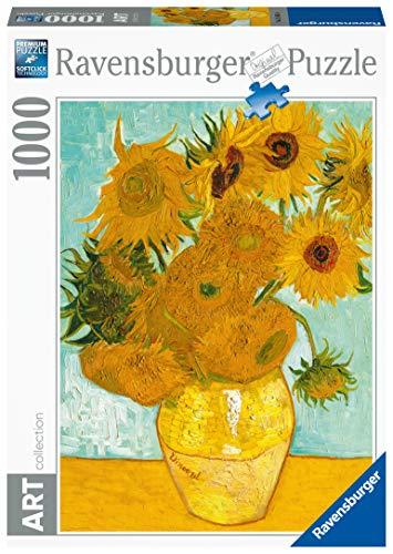 Ravensburger Puzzle 1000 pieces - Vase with Sunflowers - VVan Gogh code 15805