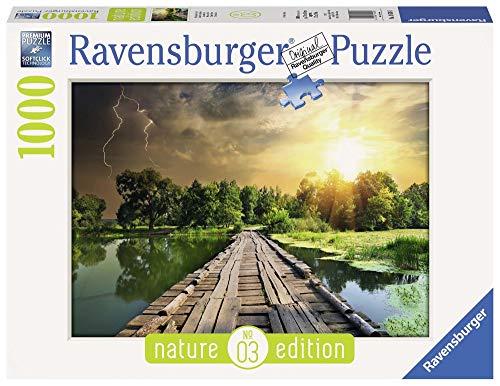 Ravensburger The Wooden Footbridge Jigsaw Puzzle 1000 Piece