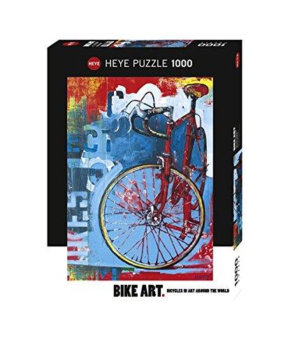 Heye Bike Art Red Limited 1000 Piece Jigsaw Puzzle
