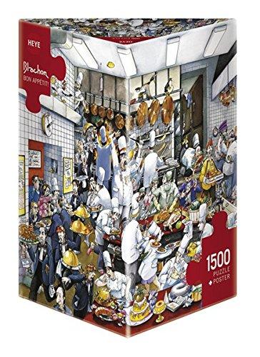 Heye Bon Appetit 1500 Piece Roger Blachon Jigsaw Puzzle