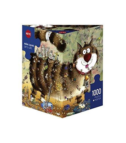 Heye Cats Life 1000 Piece Marino Degano Jigsaw Puzzle