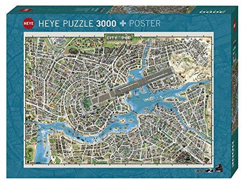 Heye City of Pop 3000 Piece Jigsaw Puzzle