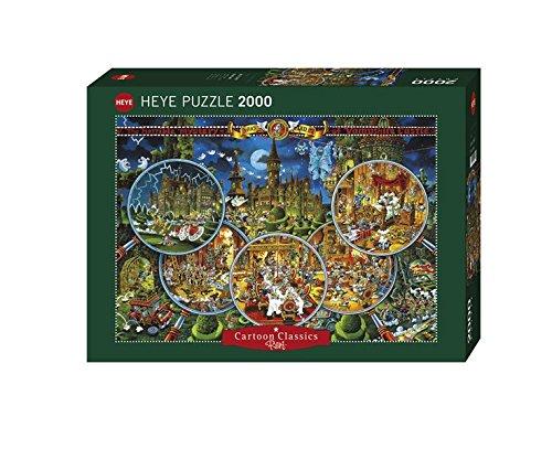 Heye Crime Scene 2000 Piece Micheal Ryba Cartoon Jigsaw Puzzle