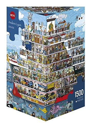 Heye Cruise 1500 Piece Anders Lyon Jigsaw Puzzle