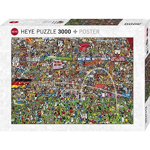 Heye Football History 3000 Piece Alex Bennett Soccer Jigsaw Puzzle