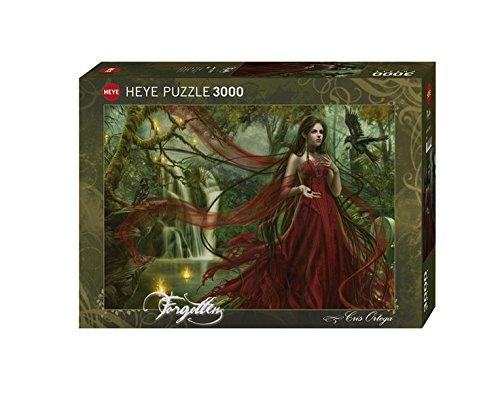 Heye Red 3000 Piece Cris Ortega Jigsaw Puzzle