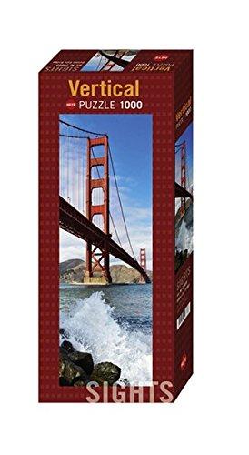 Heye Vertical Golden Gate Bridge Puzzles 1000-Piece