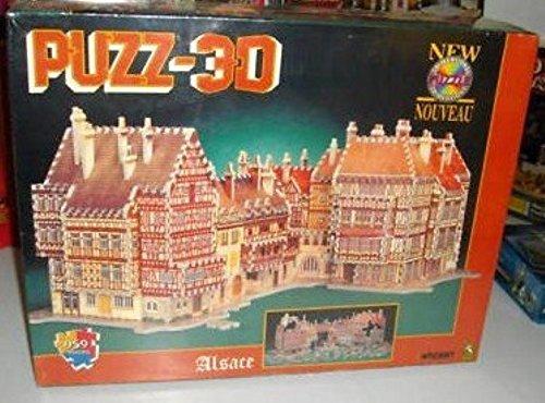 Alsace Puzz-3D Jigsaw Puzzle 959 Pieces by Wrebbit