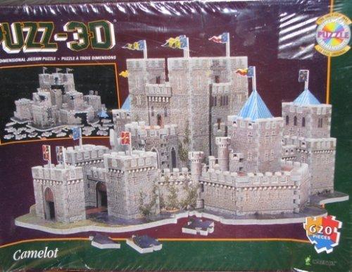 Puzz 3D Camelot Puzzle 620 pieces by Wrebbit