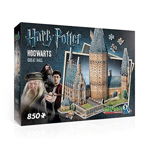WREBBIT 3D Hogwarts Great Hall 3D Puzzle 850 Piece