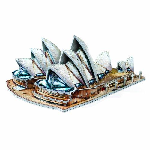 WREBBIT 3D Sydney Opera House 925-Piece