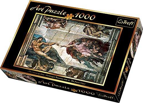 Trefl Buonarroti Creation of Adam Jigsaw Puzzle 1000 Piece
