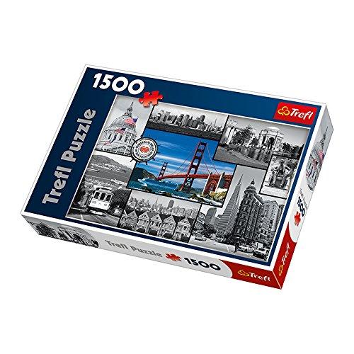 Trefl Montage San Francisco 1500 Piece Jigsaw Puzzle