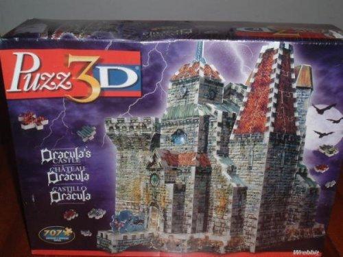 Draculas Castle Puzz-3d Puzz3d 3d Puzzle Dracula