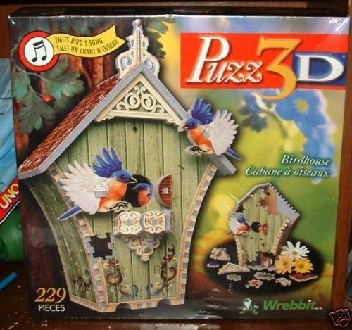 Puzz 3D Puzz3D Wrebbit Bird House Birdhouse Puzzle 229 Pieces