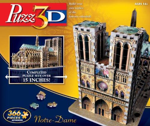 Puzz3D Notre Dame Puzzle