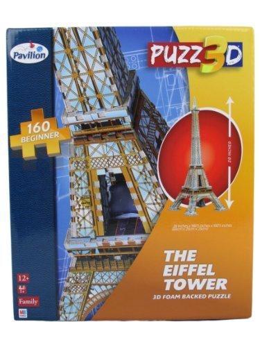 Puzz3D The Eiffel Tower Beginner 160 Pieces