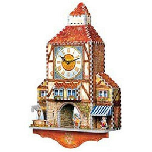 Wrebbit  Puzz3D 3D Bavarian Clock 404 Piece Puzzle