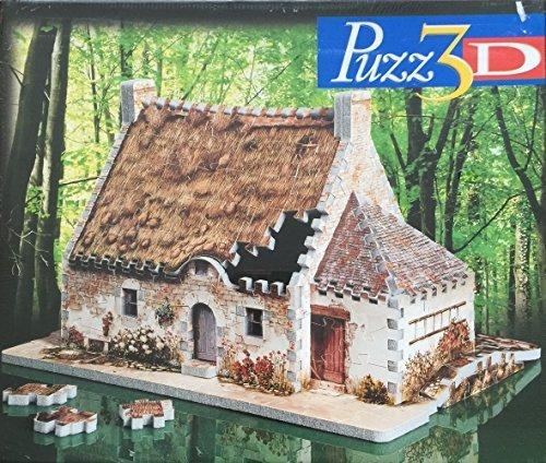 3D Puzz Country Church by Milton Bradley