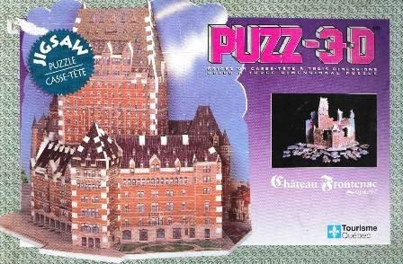 Château Frontenac Quebec Puzz-3D 12 Mini Edition
