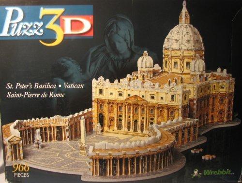 Puzz3D St Peters Basilica - Vatican Saint-Pierre de Rome