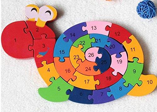 New Educational Toys Brain Game Kids Winding Snail Wooden Toys Wood Kids 3d Puzzle Wood Brinquedo Madeira Kids Jjigsaw Puzzles igraka figura igre