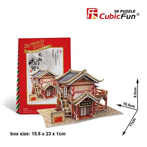 Cubicfun Cubic Fun 3d Puzzle Model China Flavor Longxiang Tavern 165cm
