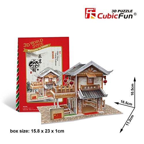 W3130h Cubicfun Cubic FUN 3d Puzzle Model China Flavor Leming Teahouse 65