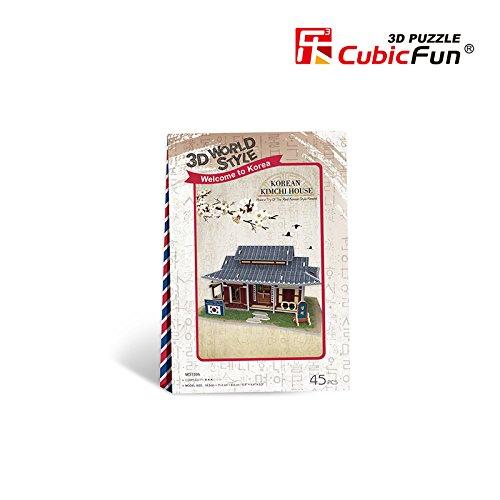 W3159h Cubicfun Cubic FUN 3d Puzzle Model 45pcs Korean Kimchi House