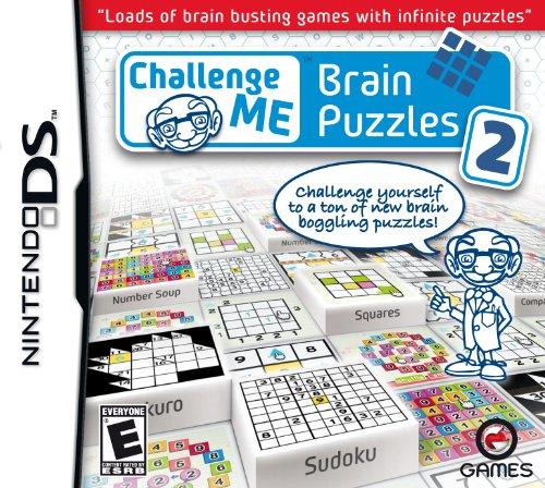 Challenge Me Brain Puzzles 2 - Nintendo DS