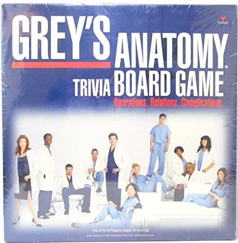 Cardinal Industries Greys Anatomy Game
