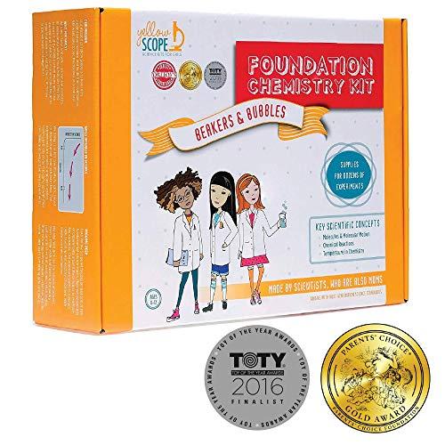 YELLOW SCOPE - Foundation Chemistry Kit Dozens of STEM Experiments That Take Girls Seriously