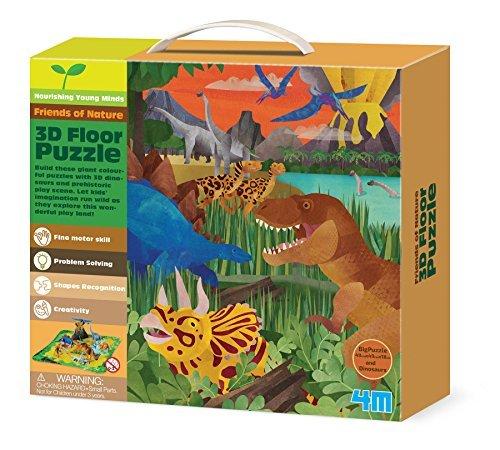 4M 3D Dinosaur Floor Puzzle 54 Piece by 4M