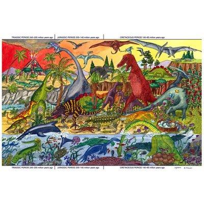 Bigjigs Toys BJ012a Dinosaur Floor Puzzle 24 Piece