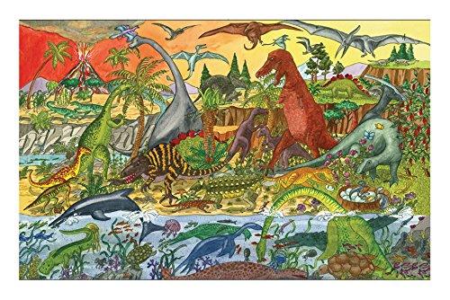 Bigjigs Toys BJ012b Dinosaur Floor Puzzle 48 Piece