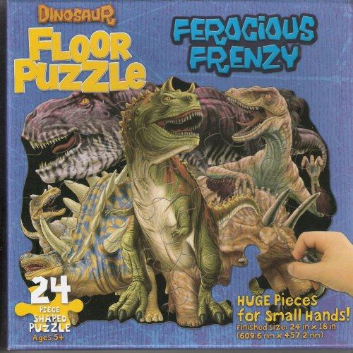 Ferocious Frenzy Dinosaur Floor Puzzle