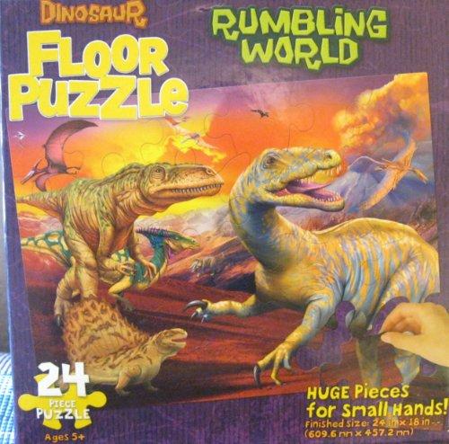 Rumbling World Dinosaur Floor Puzzles