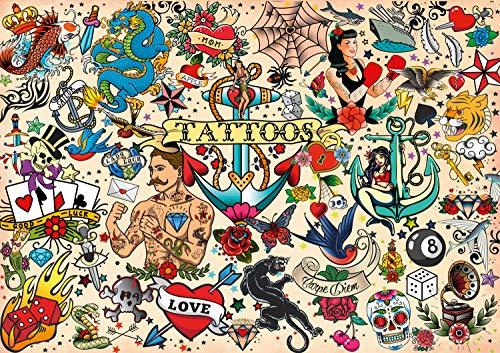 Buffalo Games - Art of Play - Tattoopalooza - 500 Piece Jigsaw Puzzle