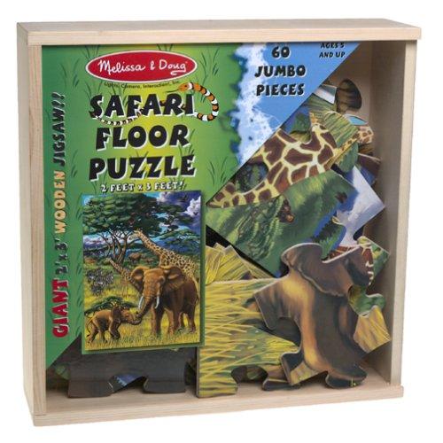 Safari Wooden Floor Puzzle