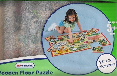 Wooden Floor Puzzle Numbers 24x36